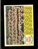 1958 TOPPS #134 PHILLIES TEAM CHECKLIST 89-176 EXMT (MK)
