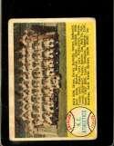 1958 TOPPS #174 A'S TEAM CHECKLIST 89-176 FAIR (MK)