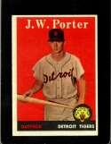 1958 TOPPS #32 J.W. PORTER GOOD