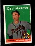 1958 TOPPS #283 RAY SHEARER GOOD (RC)