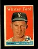 1958 TOPPS #320 WHITEY FORD GOOD+ HOF