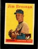 1958 TOPPS #342 JIM BROSNAN GOOD+