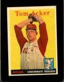 1958 TOPPS #149 TOM ACKER EXMT