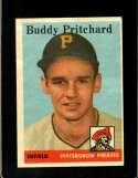 1958 TOPPS #151 BUDDY PRITCHARD EXMT (RC)