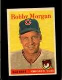 1958 TOPPS #144 BOBBY MORGAN EXMT