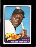 1965 TOPPS #176 WILLIE MCCOVEY UER GOOD HOF