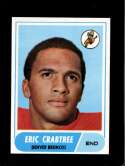 1968 TOPPS #95 ERIC CRABTREE NMMT