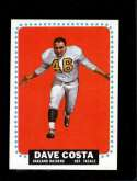 1964 TOPPS #134 DAVE COSTA EXMT (RC)