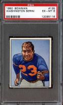 1950 BOWMAN #135 WASHINGTON SERINI PSA 6 BEARS