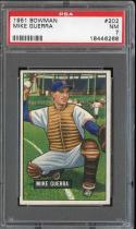 1951 BOWMAN #202 MIKE GUERRA PSA 7 SENATORS