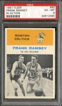 1961 FLEER #60 FRANK RAMSEY IA PSA 6 CELTICS