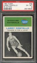 1961 FLEER #48 LARRY COSTELLO IA PSA 6 NATIONALS